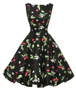 Sukienka Cherry2 black