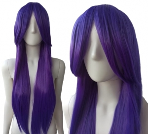 PURPLE STRAIGHT WIG PK008